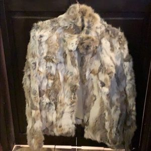 Guess rabbit fur
